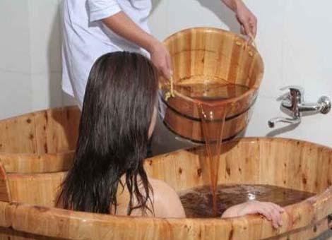 中藥藥浴療法